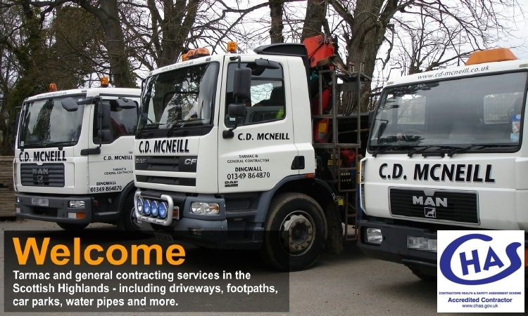 CD McNeill Tarmac & Civils Contractor - Welcome